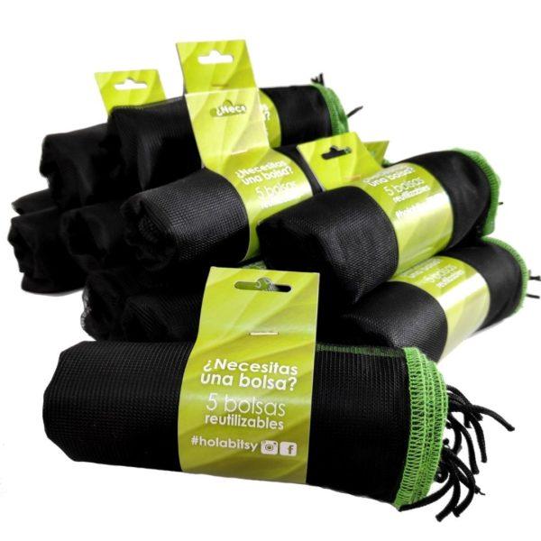 Imagen Pack Ahorro 50 bolsas reutilizables Bitsybags (10 packs de 5)
