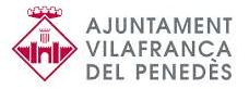 Logotipo Ajuntament de Vilafranca del Penedès